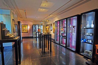 Inside of the Abderrahman Slaoui museum.