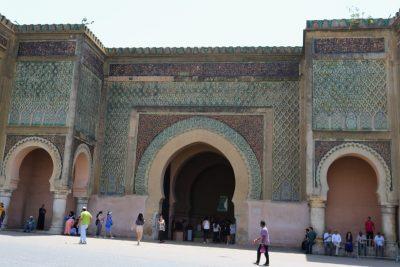 Ahmed Almansour Laalaj Gate Meknes